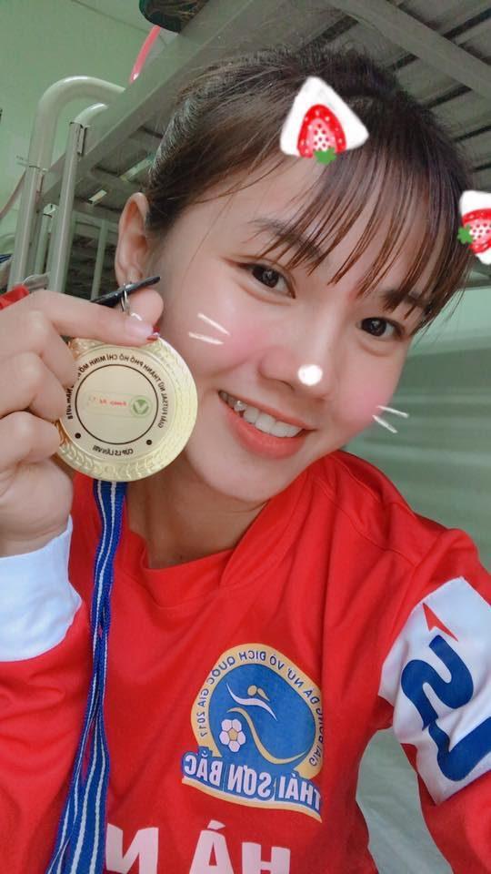 Thanh Huyền hiện đang chơi cho CLB nữ Hà Nội.