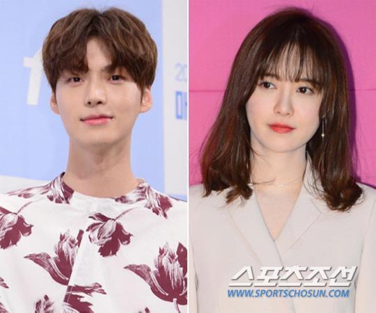 Ahn Jae Hyun và Goo Hye Sun.
