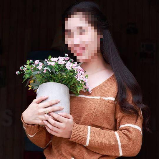 Chân dung cô gái xấu số bị người yêu sát hại.