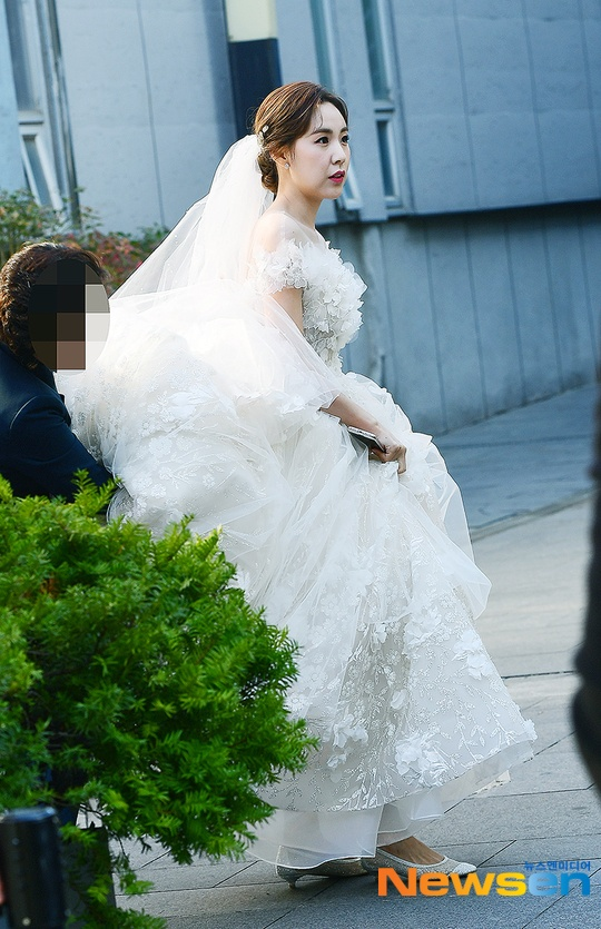 Yoon Eun Hye cùng nhiều sao Hàn dự đám cưới Kan Mi Yeon  Hwang Paul ảnh 2