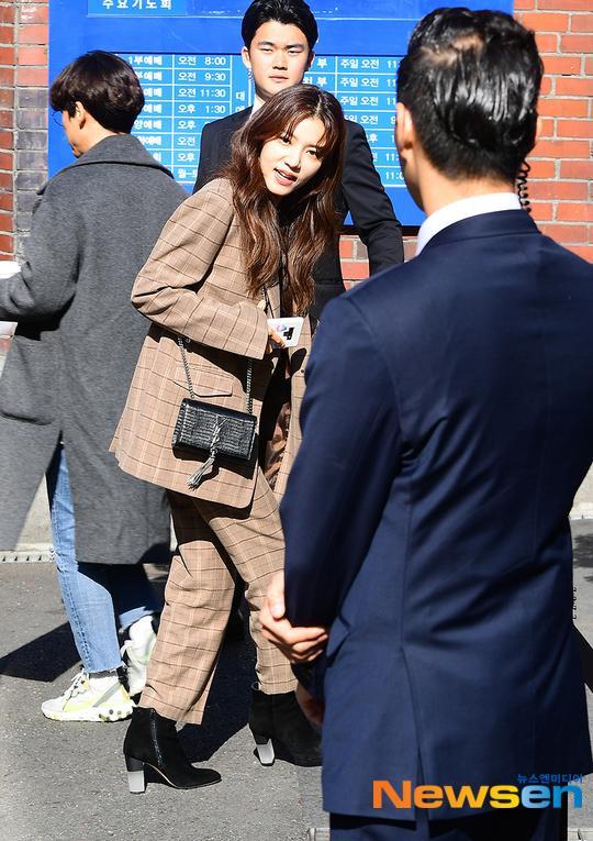 Diễn viên Jung Shi Ah.