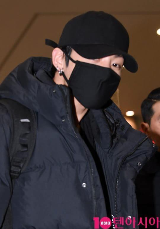 Ánh nhìn đầy quyến rũ của cậu em út Jungkook.
