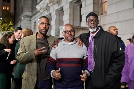 Alfred Chesnut, Andrew Stewart và Ransom Watkins bị ngồi tù oan 36 năm vì sai sót của tòa án và cảnh sát.