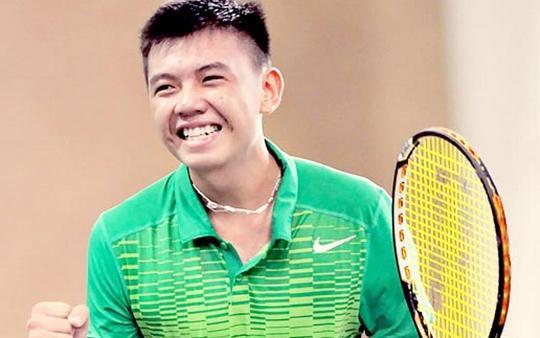 Lý Hoàng Nam được mệnh danh là hotboy quần vợt.