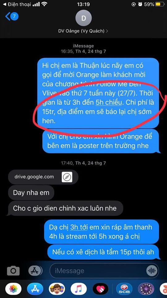 Orange rời khỏi công ty của Châu Đăng Khoa, tố ekip gian lận tài chính  tự tạo scandal ảnh 5