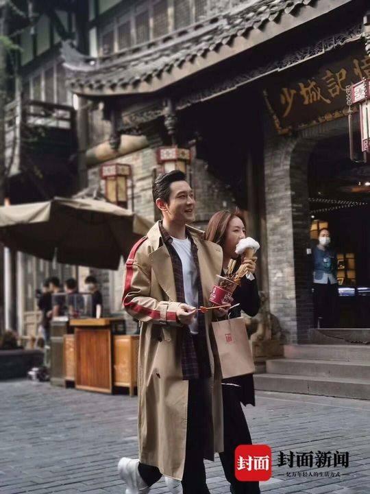 Không sợ Angelababy ghen, Huỳnh Hiểu Minh tay trong tay ngọt ngào với Thái Văn Tịnh trong phim mới ảnh 14
