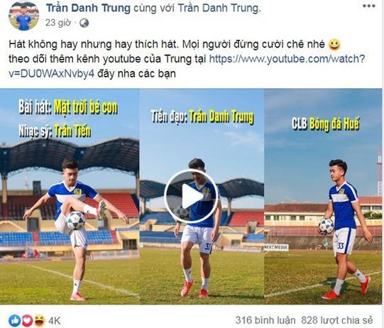 Trần Danh Trung ra mắt video ca nhạc đầu tay. Trước đó anh cũng từng gây sốt với bản cover gây nghiện 'Một bước yêu, vạn dặm đau' của Mr.Siro.