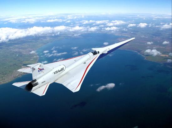 Máy bay thử nghiệm có vận tốc nhanh hơn tốc độ âm thanh.