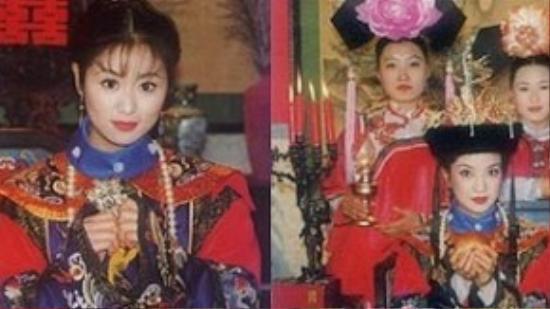 Hai vị cách cách Tiểu Yến Tử – Tử Vy xinh đẹp trong ngày thành hôn.
