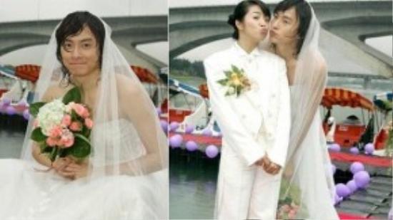 Đám cưới vui nhộn của cặp đôi.