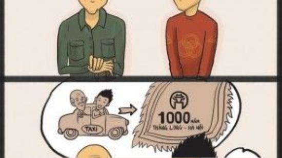 Nhưng ông cháu mình vẫn có thể vui vẻ kỷ niệm đại lễ 1000 năm mà!