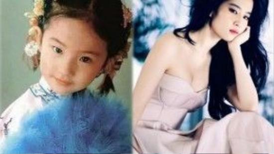 Lưu Diệc Phi được mệnh danh thần tiên tỷ. Cô thích múa, biết hát và đẹp từ khi còn nhỏ. Nhờ tố chất này, gia đình đã sớm định hướng cô theo nghề diễn.