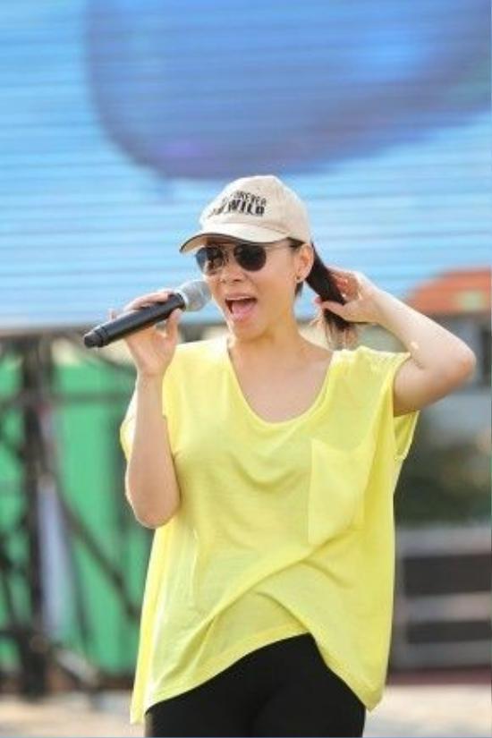 Thu Minh hứa hẹn đem đến màn trình diễn bùng nổ cho concert 25 ngàn khán giả tối nay.