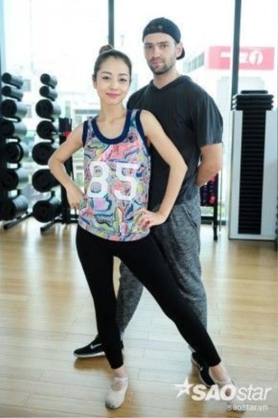 Jennifer và bạn nhảy Daniel.