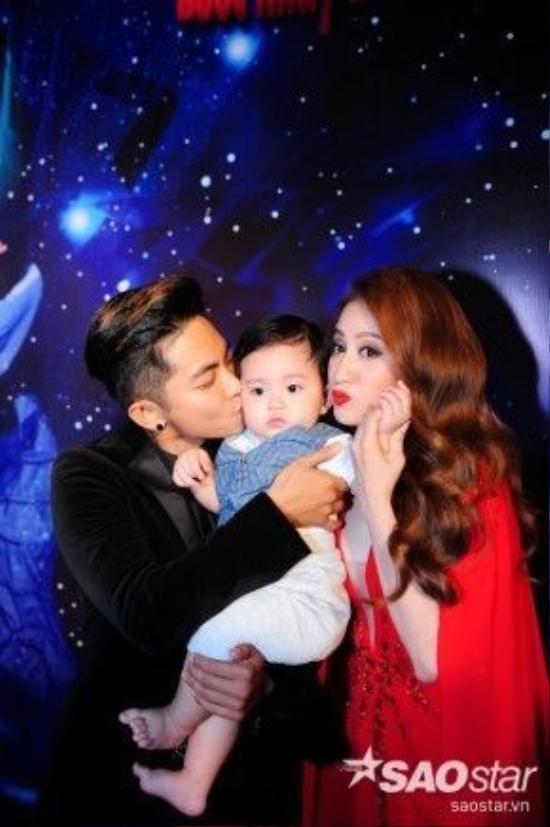 Gia đình nhỏ của Khánh Thi khiến mọi người đều phải ganh tỵ.