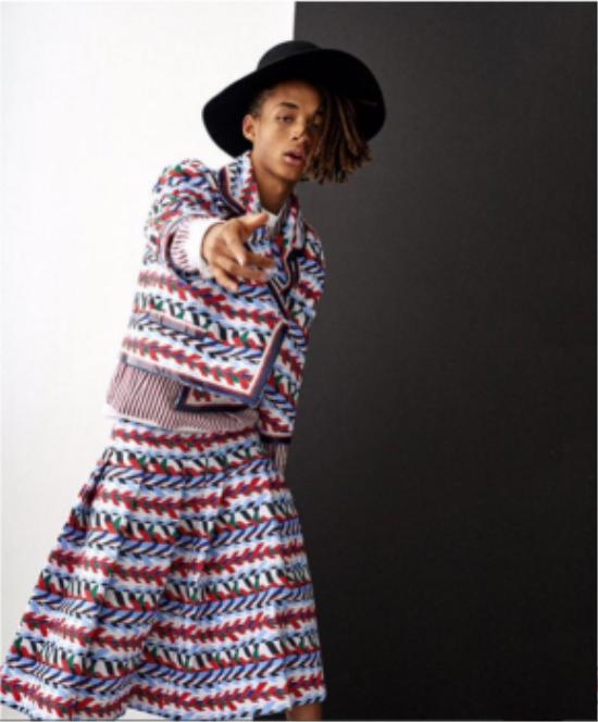 Anh chàng trên tạp chí Vogue Korea.