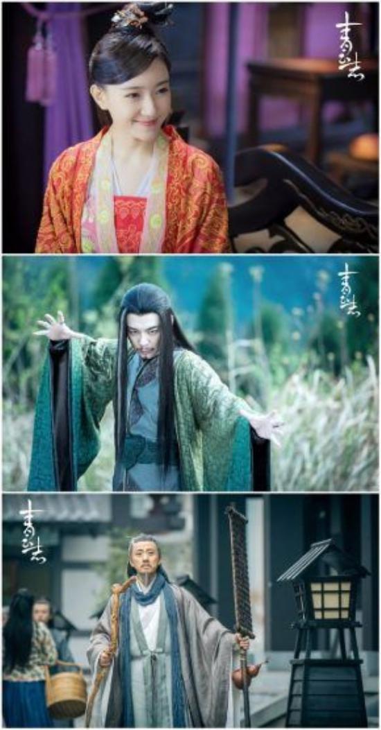 Lưu Bình Nhi (Tiêu Tuấn Diễm), Quỷ Vương (Phò Trình Bằng) và Chu Nhất Tiên (Triệu Lập Tân)