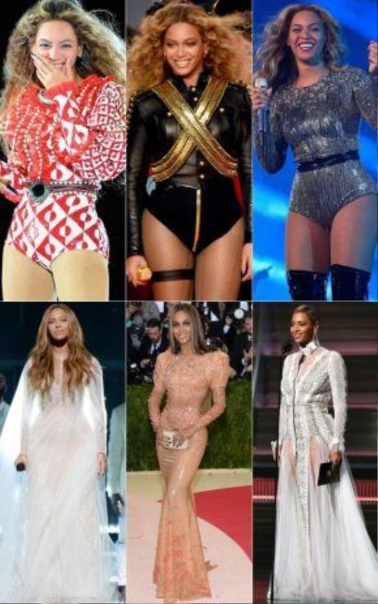 Trong thời gian qua, Beyoncé đã liên tục gây ấn tượng mạnh mẽ với phong cách thời trang đầy biến hóa của mình.