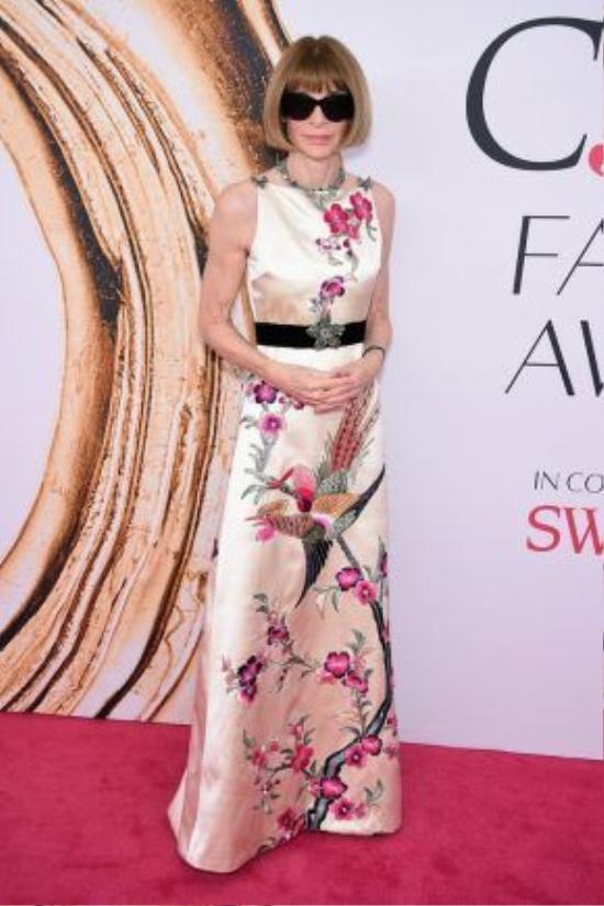 Tổng biên tập Vogue Anna Wintour.