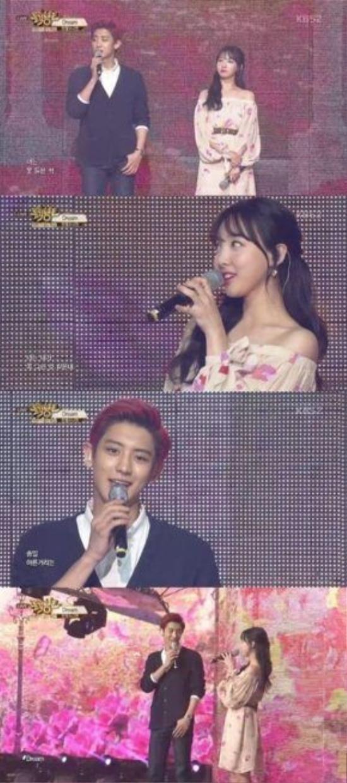 Mỹ nam EXO Chanyeol lần đầu tiên kết hợp với Nayeon (TWICE) trong ca khúc Dream của bộ đôi Baekhyun – Suzy.