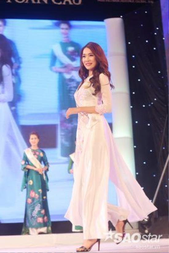 Bùi Thị Thảo Phương sở hữu chiều cao nổi trội (1,81 m). Người đẹp này từng là đối thủ của Phạm Hương ở cuộc thi Hoa hậu hoàn vũ Việt Nam 2015.