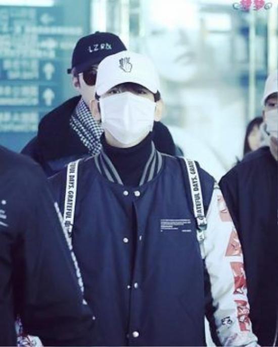 Giống với chiếc túi mà Baekyun từng đeo.