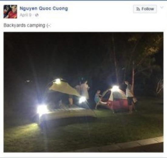 """Hội chứng thừa """"s"""" lặp lại với """"Backyards camping""""."""