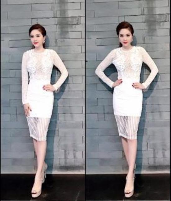 """Ren là một trong những trang phục """"hot"""" tôn lên đường nét gợi cảm trên cơ thể của phái nữ, Bảo Thy chắc hẳn là một trong những cô nàng phù hợp với xu hướng này nhất."""