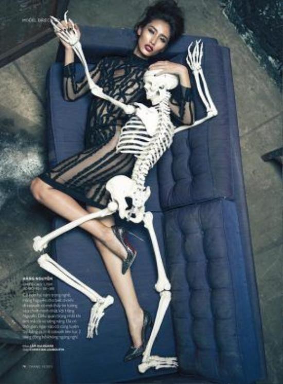 Bộ ảnh cá tính và ấn tượng trên tạp chí Đẹp của stylist Huy Mạch.
