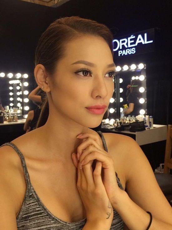 Chăm sóc da đúng cách sẽ là phương pháp hữu ích giúp Lilly Nguyễn đẹp hơn trong bất kỳ tone trang điểm nào.