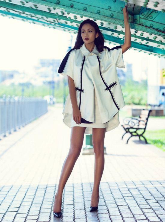 Quán quân Việt Nam Next Top Model 2013 Mâu Thủy