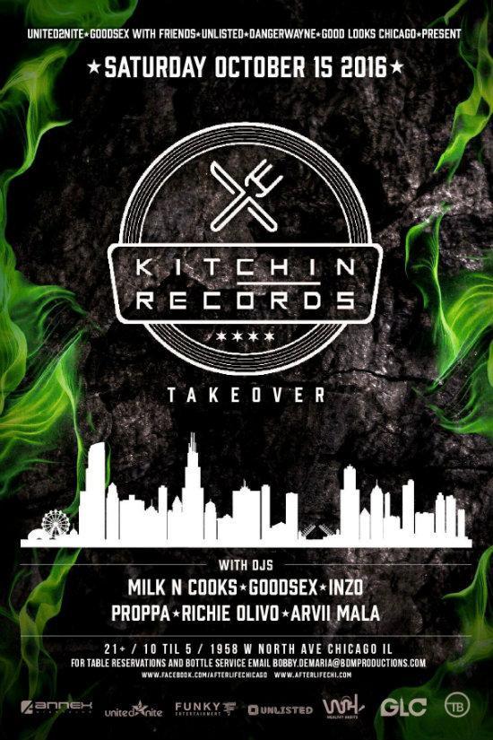Một sự kiện hoành tráng do hãng thu âm Kitchen Records của Milk N Cooks tổ chức.