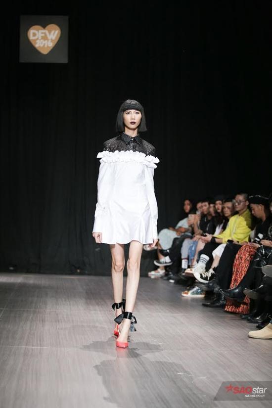 Gam màu đen và trắng chính là điểm nhấn trong BST lần này của thương hiệu Chaddie.