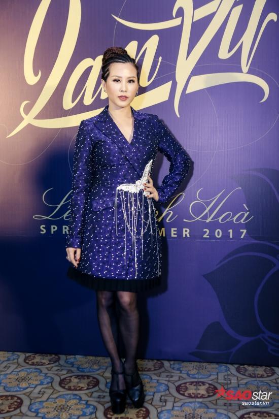 Hoa hậu Thu Hoài lạ mắt cùng mốt tóc tết chiến binh, cá tính không kém fashionista nào.