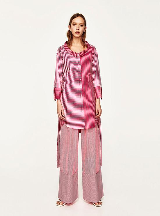 Siêu phẩm của thương hiệu Zara, cận cảnh nguyên set có giá 999.000 đồng.