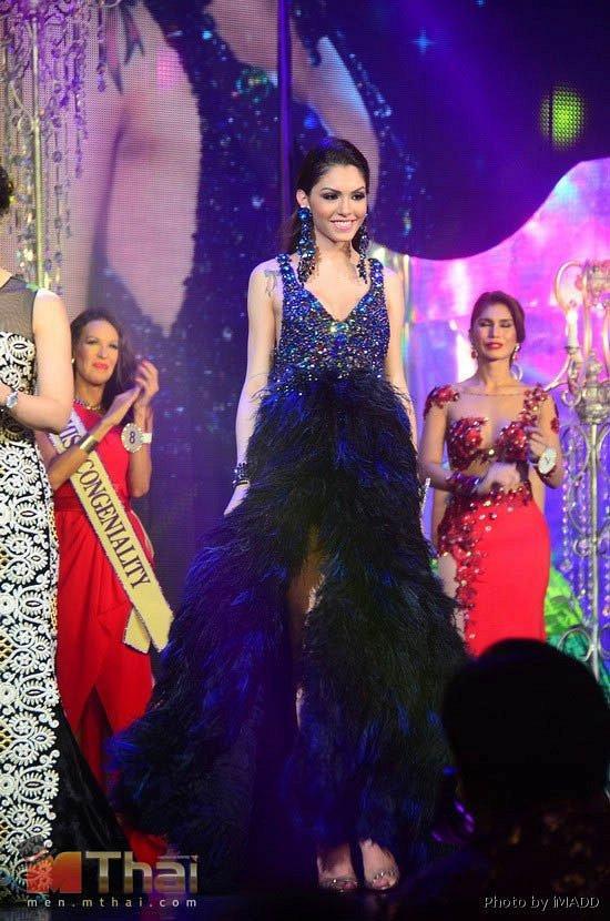 Năm 2013 Marcela Ohio 17 tuổi đến từ Brazil được xướng tên ở giải thưởng Trang phục dạ hội đẹp nhất.