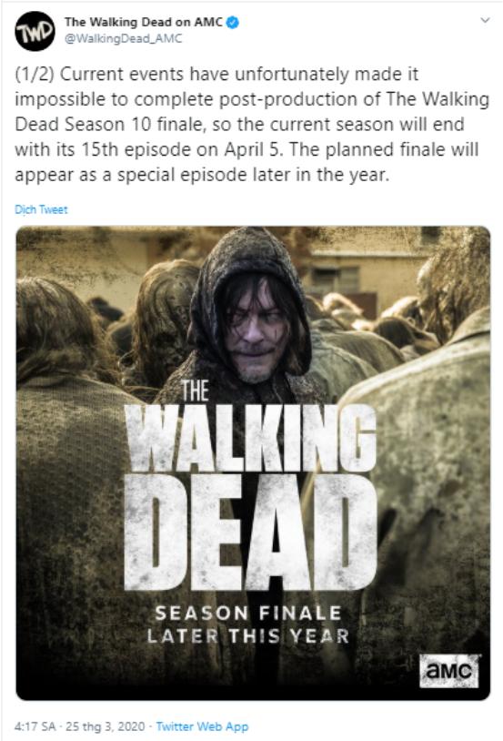 The Walking Dead mùa 10 sẽ kết thúc sớm chỉ với 15 tập ảnh 4
