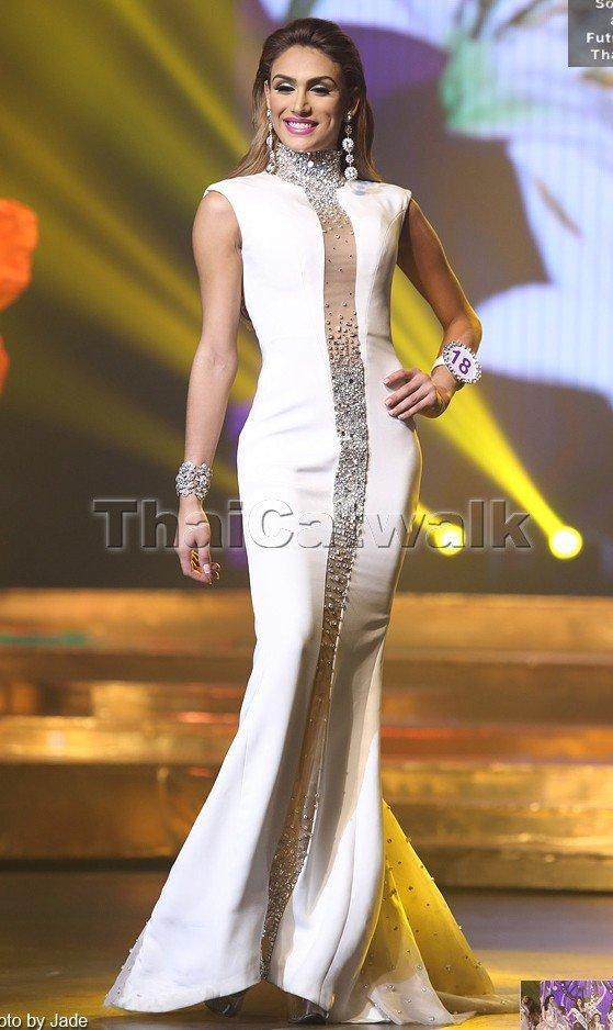 Điều tương tự một lần nữa lại xảy ra trng năm 2014. Isabella Santiago đại diện Venezuela là chủ nhân tiép theo của giải thưởng trang phục dạ hội đẹp nhất.