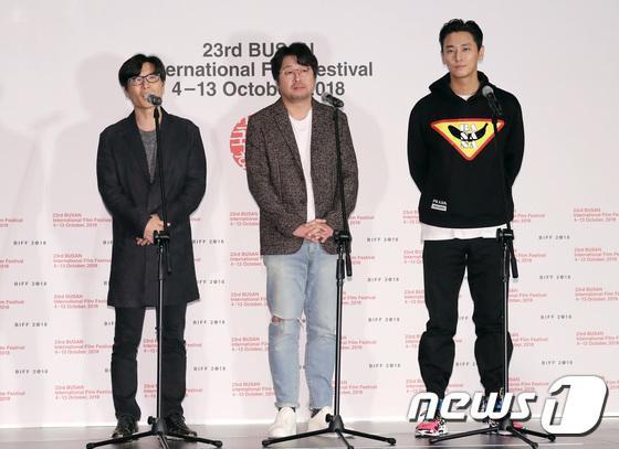 Vượt bão Kong-rey, Han Ji Min  Yoo Ah In, Joo Ji Hoon và Kim Go Eun gặp gỡ khán giả tại LHP Busan ngày 3 ảnh 20