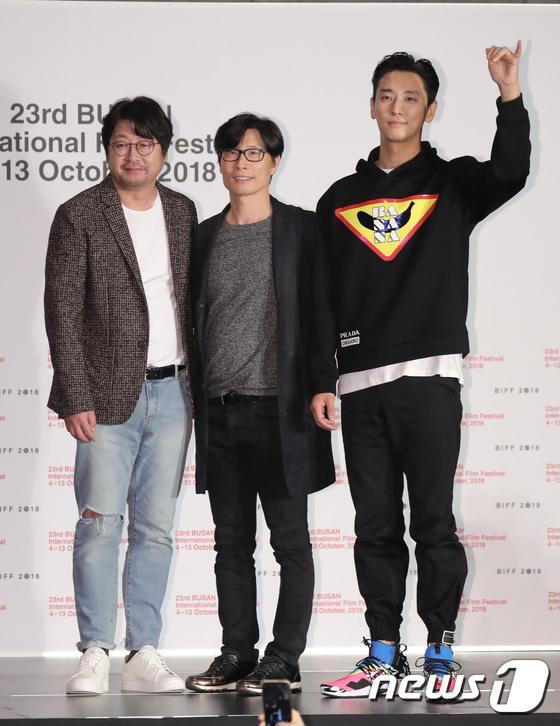 Vượt bão Kong-rey, Han Ji Min  Yoo Ah In, Joo Ji Hoon và Kim Go Eun gặp gỡ khán giả tại LHP Busan ngày 3 ảnh 19