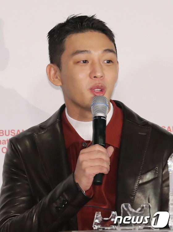 Vượt bão Kong-rey, Han Ji Min  Yoo Ah In, Joo Ji Hoon và Kim Go Eun gặp gỡ khán giả tại LHP Busan ngày 3 ảnh 32