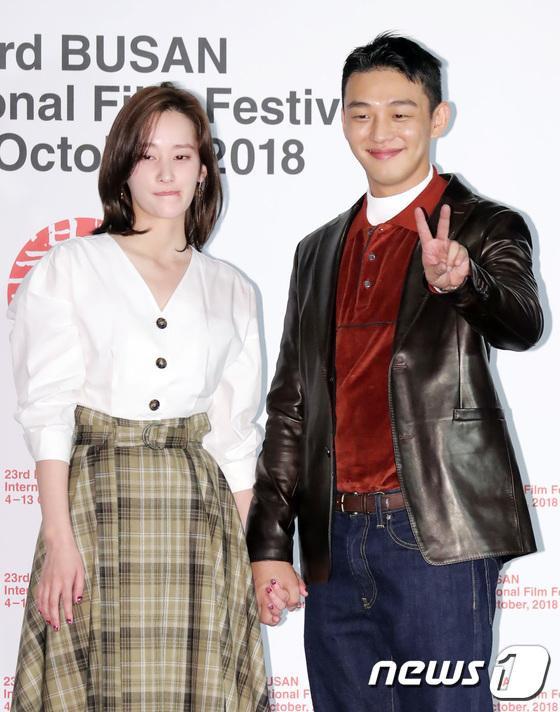 Vượt bão Kong-rey, Han Ji Min  Yoo Ah In, Joo Ji Hoon và Kim Go Eun gặp gỡ khán giả tại LHP Busan ngày 3 ảnh 30