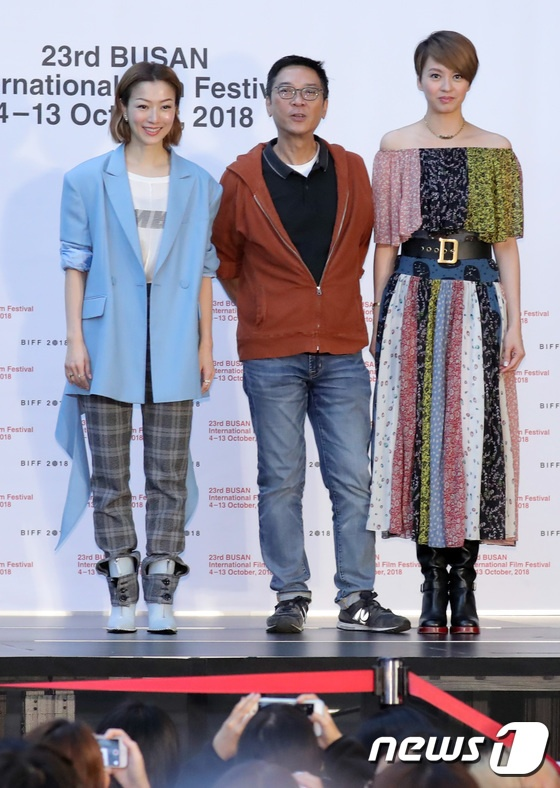 Vượt bão Kong-rey, Han Ji Min  Yoo Ah In, Joo Ji Hoon và Kim Go Eun gặp gỡ khán giả tại LHP Busan ngày 3 ảnh 40
