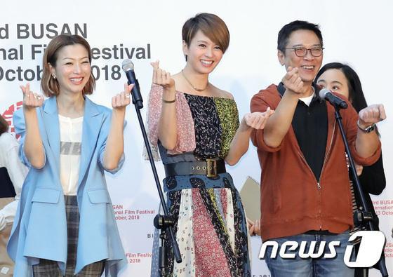 Vượt bão Kong-rey, Han Ji Min  Yoo Ah In, Joo Ji Hoon và Kim Go Eun gặp gỡ khán giả tại LHP Busan ngày 3 ảnh 41