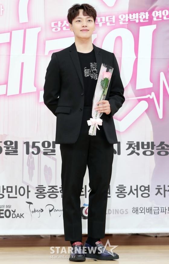 Họp báo Absolute Boyfriend: Yeo Jin Goo rạng rỡ, Minah (Girls Day)  Hong Jong Hyun thân mật quá mức ảnh 3