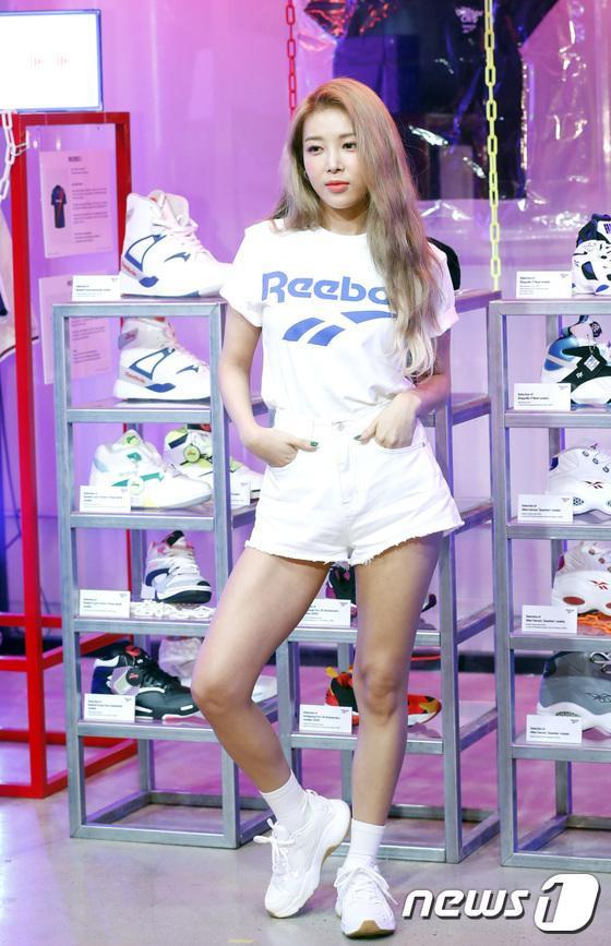 Rapper Yoo Bin của Wonder Girls.