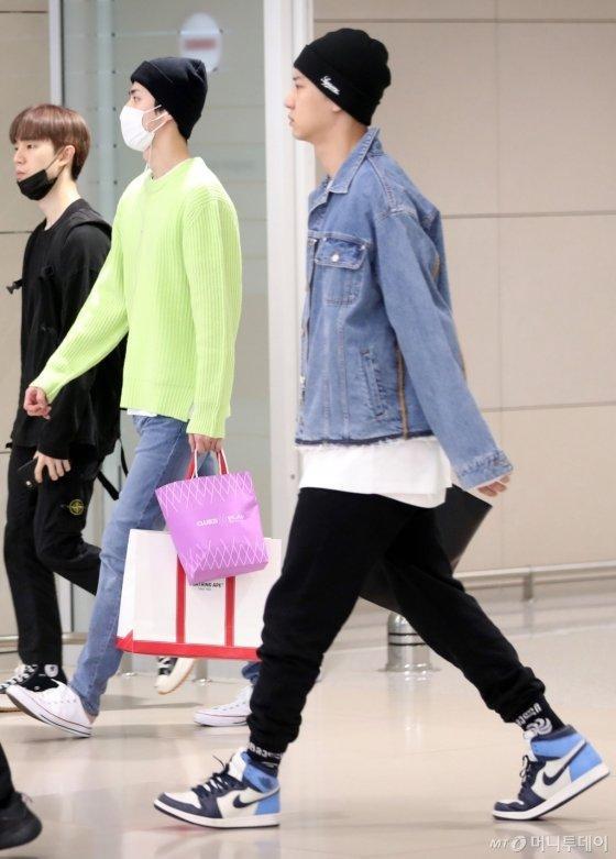 Sehun và Chanyeol của EXO.