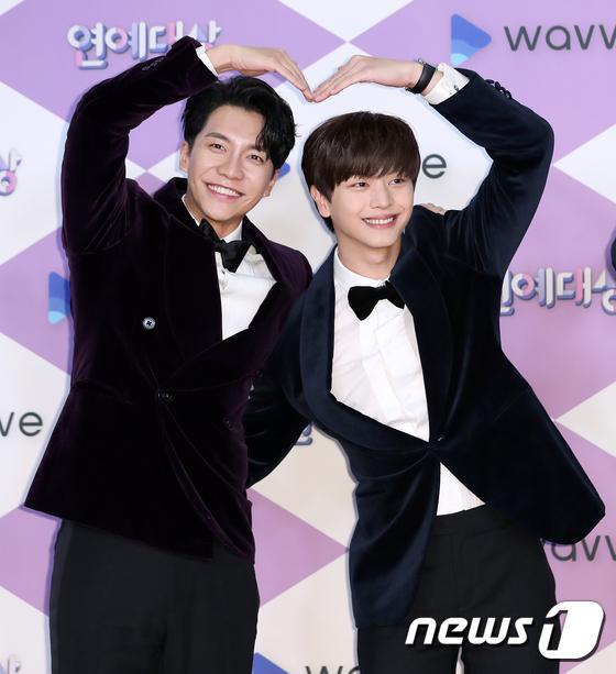 Lee Seung Gi và Yook Sung Jae.