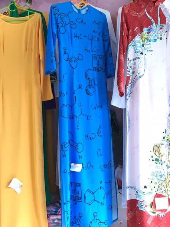 Diện mạo chiếc áo dài siêu chất khiến cư dân mạng thích thú