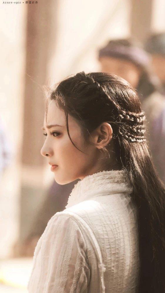 Gà cưng của Phạm Băng Băng  Bành Tiểu Nhiễm xinh đẹp trong tạo hình Dương Quý Phi ảnh 8